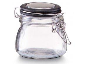 Kontejner pro koření, nádoba s víkem, 125 ml -  barva černá, ZELLER