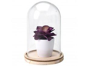 Dekorativní pohár s květem, umělá ozdoba Home Styling Collection