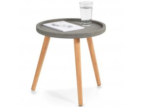 Konferenční stolek CONCRETE, Ø 40 cm, ZELLER