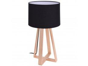 Stolní lampička, dřevěná, stojací Home Styling Collection