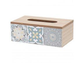 Dóza na papírové kapesníčky KYRA DESIGN Home Styling Collection