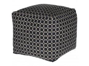 Taburet, polštář dekorativní