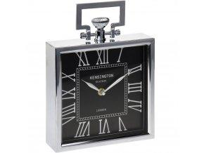 Kovové hodiny KENSINGTON STATION stolní