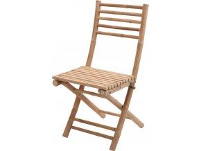 Křeslo z přírodního dřeva, skládací - stolička