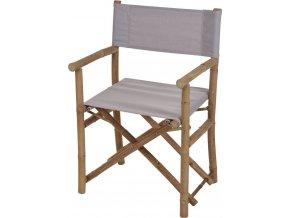 Křeslo z přírodního dřeva, skládací - stolička Home Styling Collection