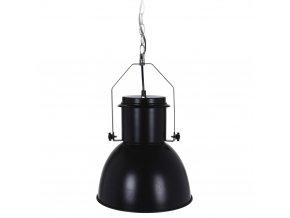 Kovové stropní svítidlo - černá barva, Ø 27 cm Home Styling Collection