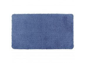 Koupelnový kobereček NAVY BLUE, 90 x 60 cm, WENKO, modrá barva, WENKO