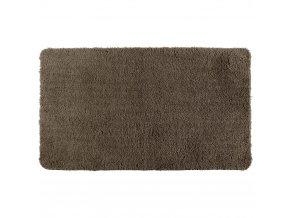Koupelnový kobereček  POLY CACAO, 120 x 70 cm, WENKO, hnědá barva,