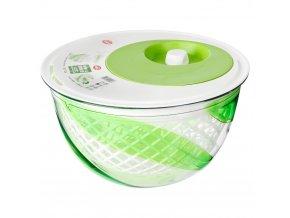 Odstředivka na salát SNIPS - barva bílo-zelená, 5 l
