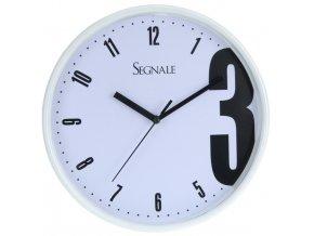 Nástěnné hodiny SEGNALE - kulaté Ø26 cm