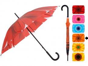 Deštník s manuálním otevíráním FLOWER, deštník - Ø 105 cm