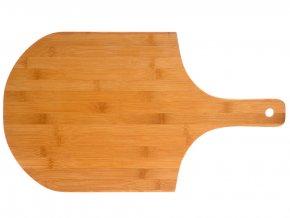 Bambusové prkénko, prkénko na krájení, kvalitní prkénko na pizzu, velmi odolné, neutrální barva