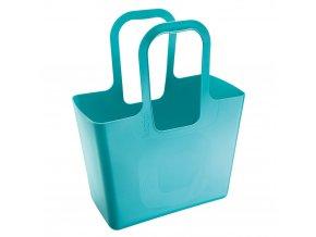 Multifunkční nákupní taška, na pláži TASCHE XL - barva tyrkysová, KOZIOL