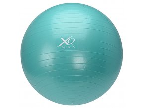 Gymnastický míč na cvičení 65 cm, s pumpičkou - modrá  Emako
