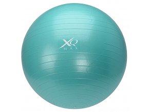 Gymnastický míč na cvičení 65 cm, s pumpičkou - modrá
