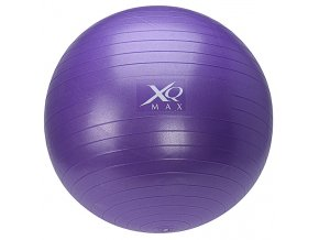Gymnastický míč na cvičení, 65 cm, s pumpičkou - fialová  Emako