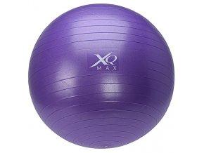 Gymnastický míč na cvičení, 65 cm, s pumpičkou - fialová
