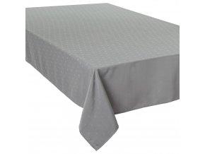 Ubrus, ubrus odolný proti nečistotám,ubrus obdélníkový - šedá barva, 150 x 300 cm