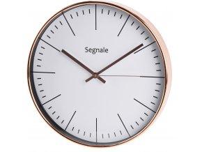 Kulaté hodiny nástěnné SEGNALE, Ø 30 cm
