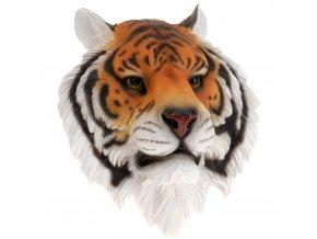3D nástěnná dekorace - tygří hlava