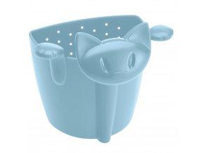 Sítko na čaj MIAOU , barva světle modrá, KOZIOL