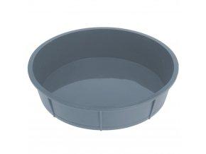 La Cucina Silikonová pečící forma  27 cm, šedá barva
