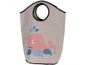 Home Styling Collection Taška na špinavé prádlo, hračky, motiv dětský  2v1