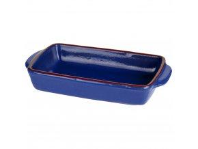 Keramické nádobí žáruvzdorné pro zapékání, tmavě modrá barva