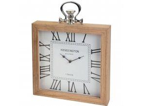 Emako Dřevěné hodiny,stolní, nástěnné
