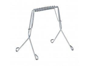 WENKO Kuchyňské klipsy na maso spony 10 ks, nerezová ocel,