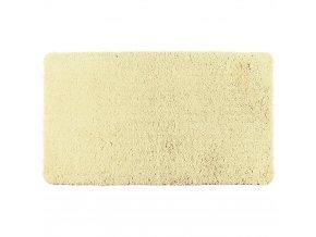 Koupelnový kobereček POLY VANILLA, 120 x 70 cm, WENKO, světle žlutá barva