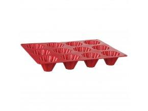 forma na muffiny, silikonová forma na pečení cukroví, mini muffiny, forma na mini bábovek, 12 kus