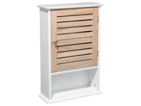 Skříňka, police, koupelnová police, nástěnná police, skříňka koupelnová, úložný box, barva bílá