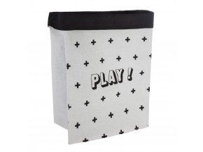 Nádoba na hračky, taška na prádlo, koš na prádlo PLAY - 2v1