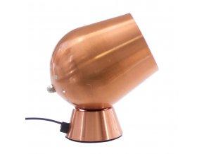 Dotyková lampa ATMOSPHERA, stolní lampa, stolní lampička - výška 18 cm, měděná barva