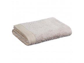 Ručník, béžový ručník, bavlněný ručník - béžová barva, 150 x 100 cm