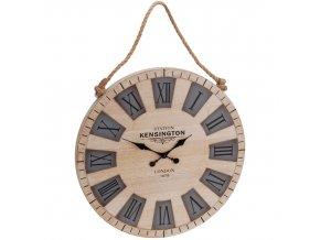 Nástěnné hodiny KENSINGTON - kulaté Ø 50 cm