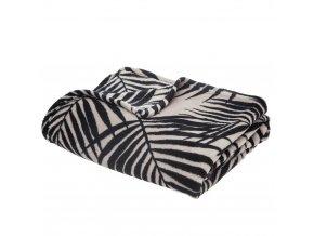 Teplá deka, přikrývka, deka s mikrovlákna, polyester, MOOD 150 x 125 cm - barva šedá