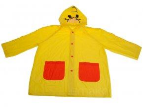 Pláštěnka pro děti - dětská pláštěnka s kapucí - XL