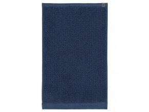 Koupací ručník, velký ručník, koupelny ručník,100% Bavlna, modrá barva, Essenza - 50x100