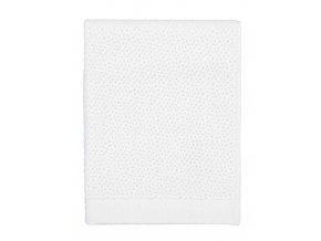 Velký ručník, koupací ručník, koupelny ručník, 100% Bavlna, bilá barva, Essenza - 50x100