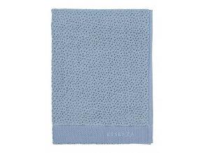 Velký ručník, koupací ručník, koupelny ručník, 100% Bavlna, modrá barva, Essenza - 50x100