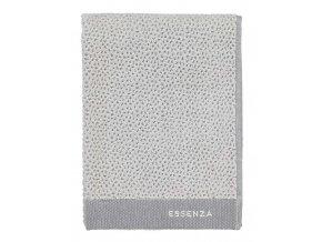 Velký ručník, koupací ručník, koupelny ručník, 100% Bavlna, šedá barva, Essenza - 50x100