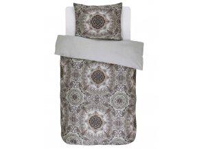 Bavlněné povlečení na postel, obrázkové povlečení, povlečení na jednolůžko, etnický styl, Essenza - 140x220+60x70