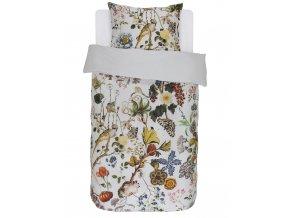 Bavlněné povlečení na postel, povlečení na jednolůžko, obrázkové povlečení, 100% bavlna - příroda, Essenza - 140x220+60x70