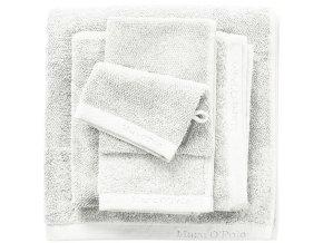 Luxusní froté ručník, koupací ručník, bavlna, bilá barva, 30 x 50 cm, 50 x 100 cm, 70  x 140 cm - 50x100