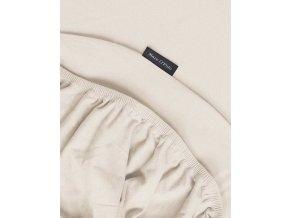 Hladké prostěradlo jersey, luxusní prostěradlo z hladkého úpletu, prostěradlo s gumičkou, exkluzivní prostěradlo, 90 x 200 cm, 100 x 220 cm, Marc O'Polo - 90/100 x 200/220