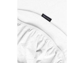 Hladké prostěradlo jersey, luxusní prostěradlo z hladkého úpletu, prostěradlo s gumičkou, exkluzivní prostěradlo, Marc O'Polo - 140/160 x 200/220