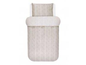 Bavlněné povlečení na postel, povlečení na jednolůžko ZILAR, obrázkové povlečení, 100 % bavlna - Marco O'Polo - 140x220+60x70