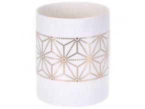 Home Styling Collection Dekorativní porcelánový svícen